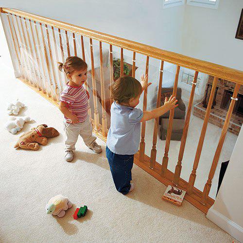 zabezpieczenie balustrady