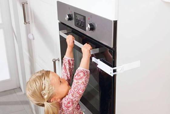 jak zabezpieczyć drzwi piekarnika